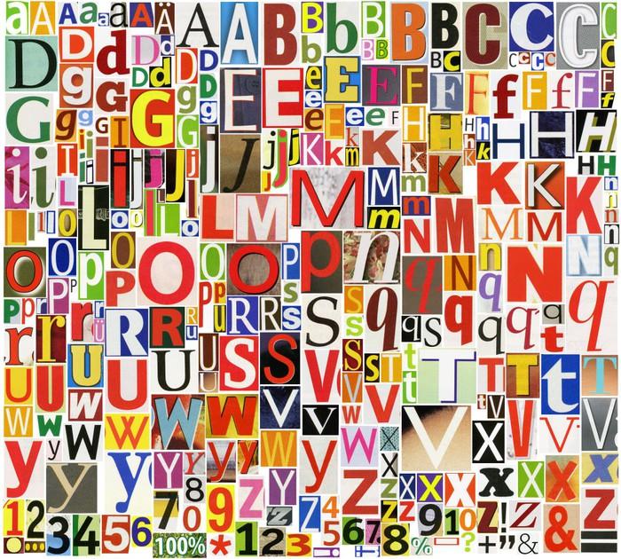 tapete zeitung zeitschrift alphabet mit buchstaben. Black Bedroom Furniture Sets. Home Design Ideas