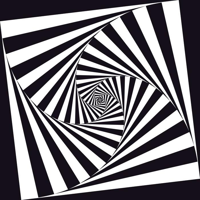 Carta da parati optical art pixers viviamo per il for Carta da parati vinile