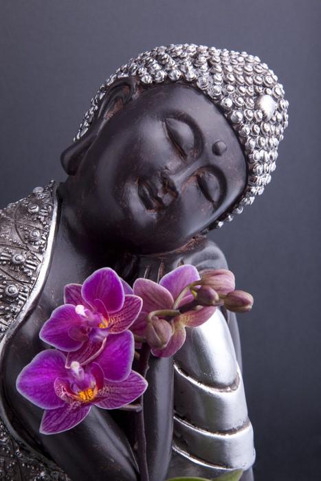 Vinylová fototapeta Buddha a Serenity - Vinylová fototapeta