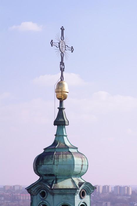 Papel de Parede em Vinil Archikatedra Jana Chrzciciela Lublin wieża - Europa