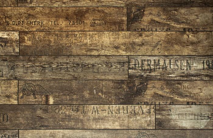 Vinylová Tapeta Falešný dřevěná stěna - Témata