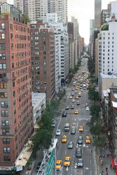 Naklejka Pixerstick Nowy Jork, Manhattan, USA - Pejzaż miejski