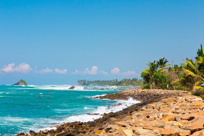 Vinylová Tapeta Srí Lanka beach - Prázdniny