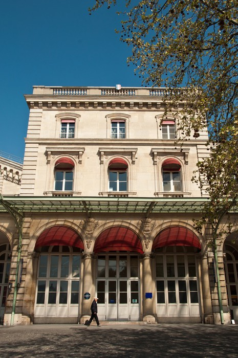 Poster en Cadre Gare de l'est à Paris - Villes européennes