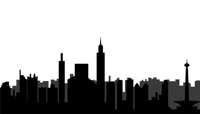 Vinylová Tapeta Jakarta skyline - Jiné