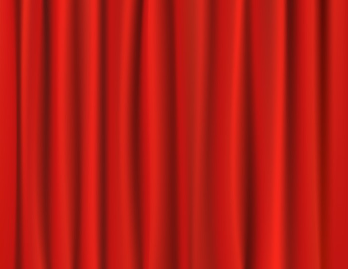 fotomural cortinas rojas estndar - Cortinas Rojas