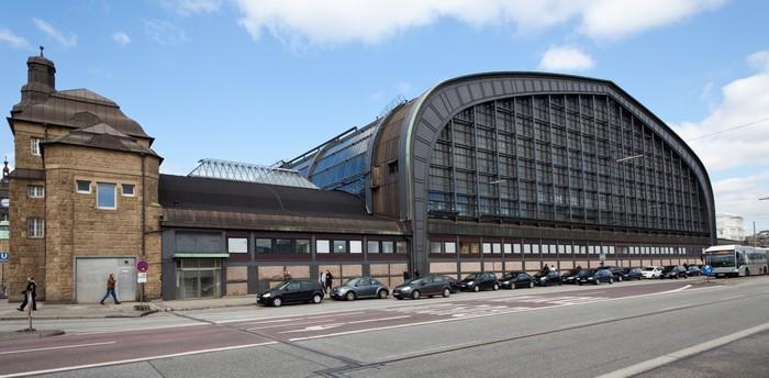 Vinylová Tapeta Hauptbahnhof Hamburg - Infrastruktura