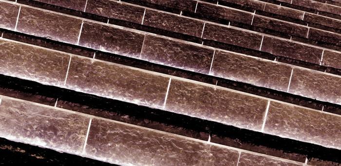 Vinylová Tapeta Hnědá schodiště - Závislosti