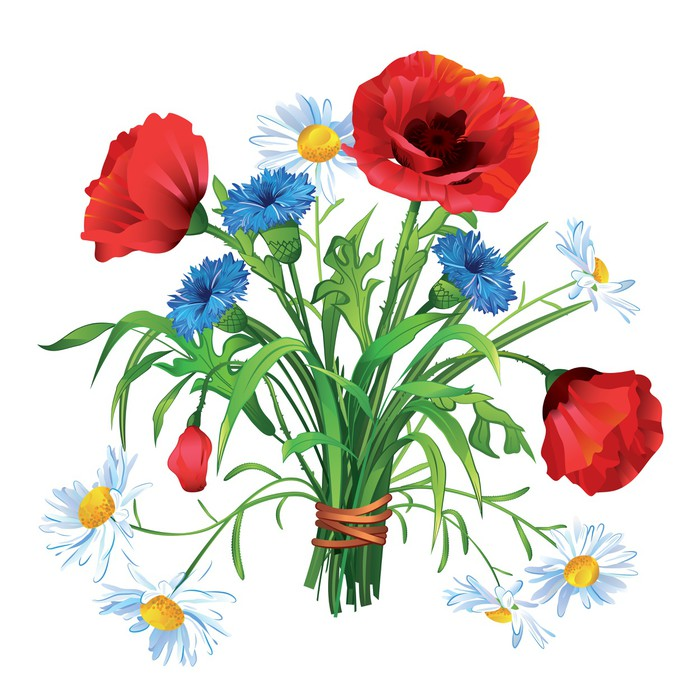 Amazing mazzo fiori di campo dw07 pineglen for Carta da parati colorata