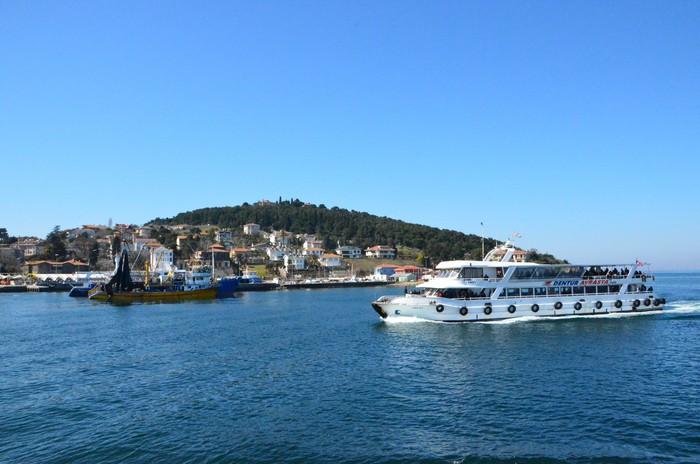 Vinylová Tapeta Istanbul Inseln im marmarameer - Střední Východ