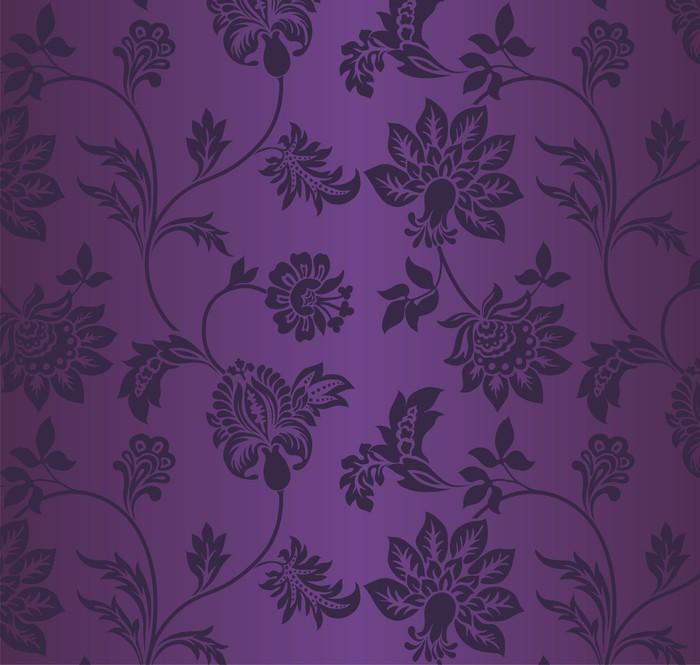 Vinylová Tapeta Tradiční květinový vzor, textilní design, královský Indie - Asie