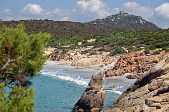 Vinylová Tapeta Korsika Beach - Evropa