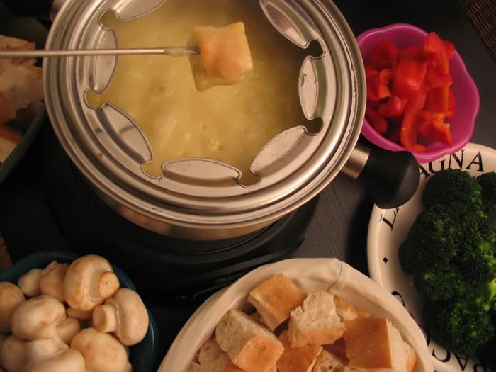 Tableau sur Toile Fondue (fromages) - Thèmes