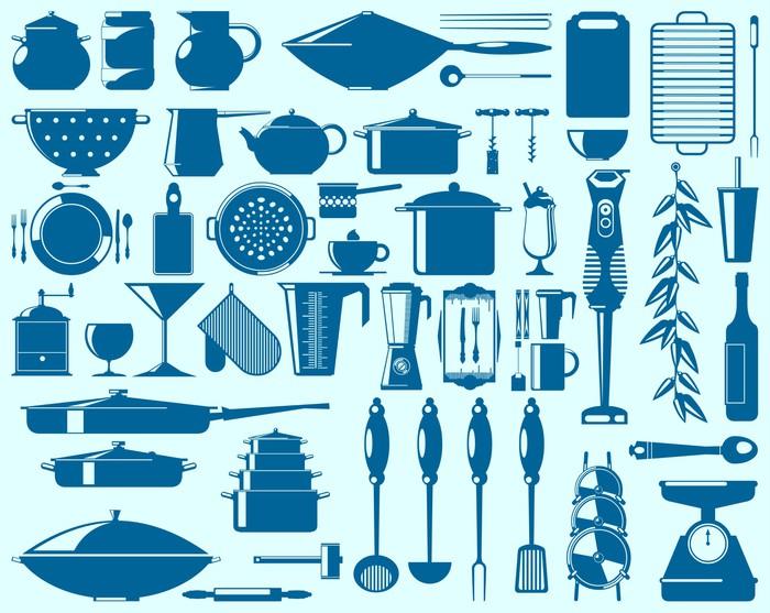Fotomural elementos de cocina pixers vivimos para cambiar - Fotomural para cocina ...