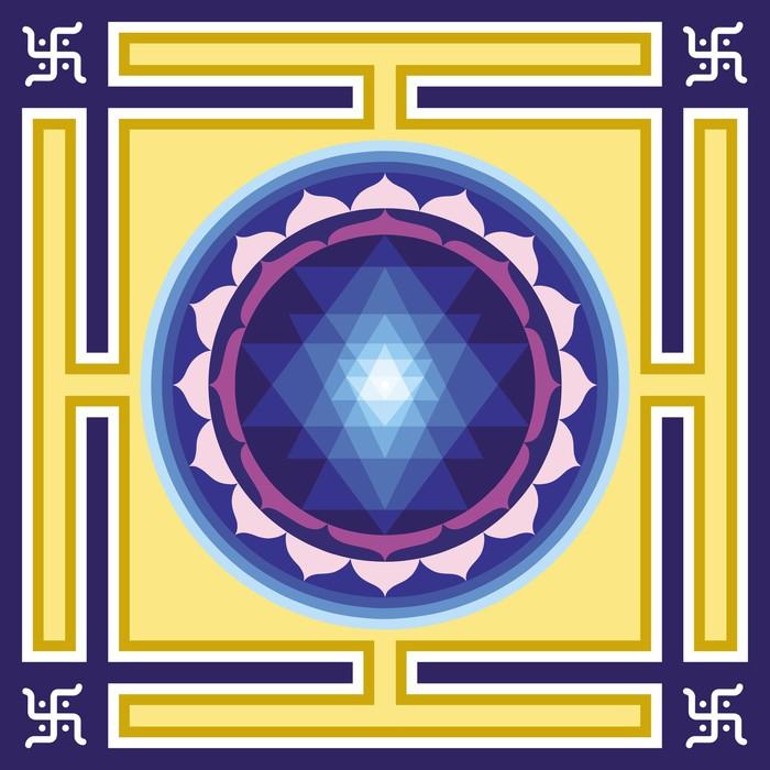 Vinylová Tapeta Shri Jantra - Náboženství