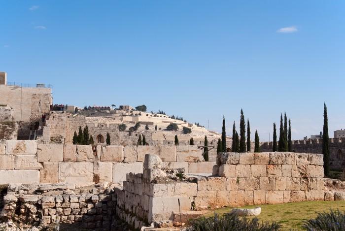 Ancient Jerusalem Wall