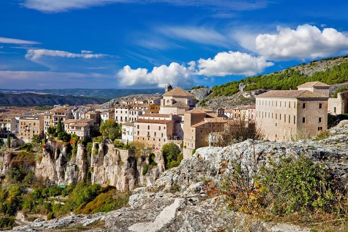 Vinylová Tapeta Krásné úžasné město Španělska - Cuenca - Témata