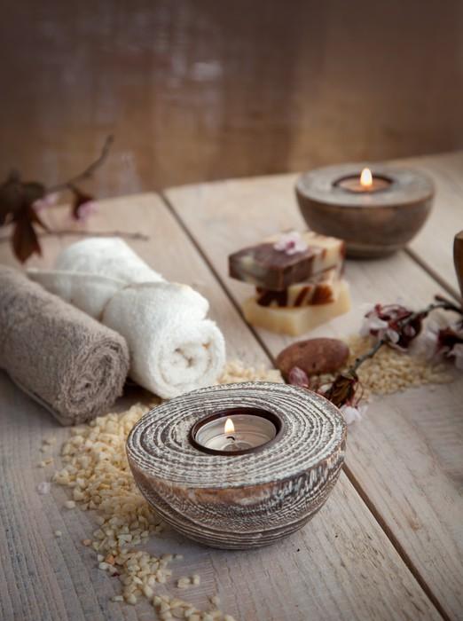 papier peint r glage spa naturel pixers nous vivons pour changer. Black Bedroom Furniture Sets. Home Design Ideas