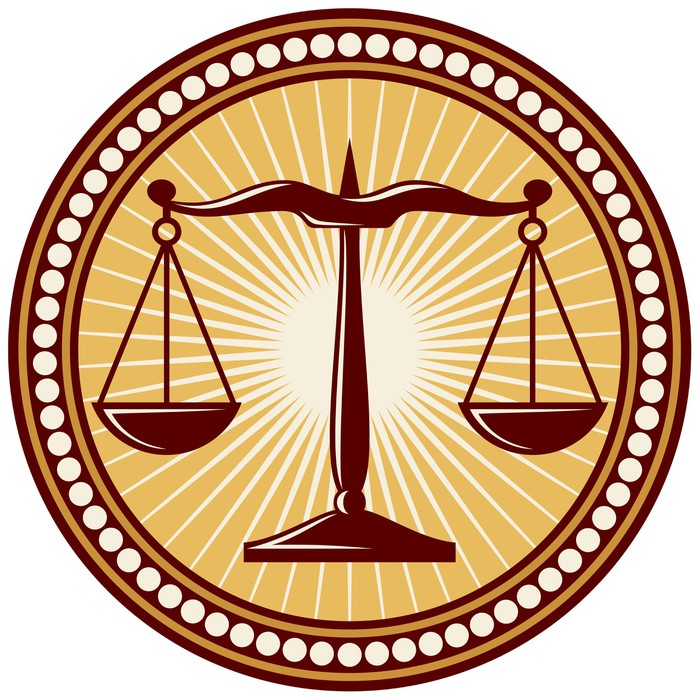 Scales Of Justice Symbol Sticker Pixers We Live To Change