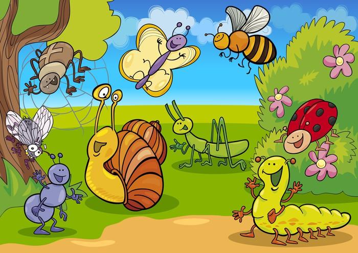 Znalezione obrazy dla zapytania owady na łące