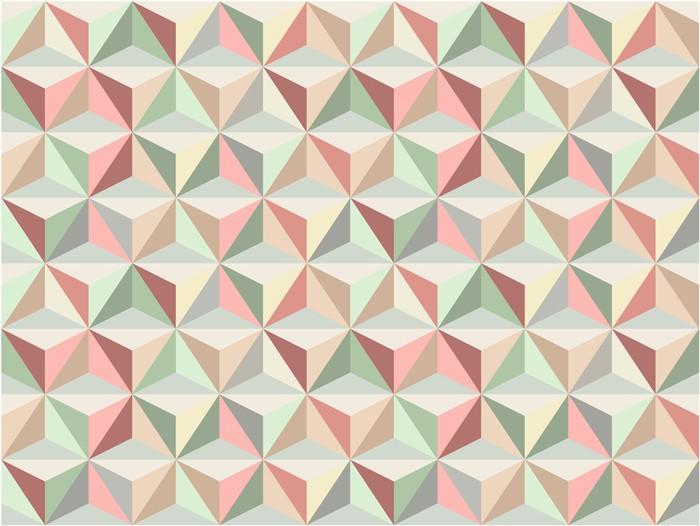 tableau sur toile triangle motif sans soudure 1 pixers. Black Bedroom Furniture Sets. Home Design Ideas