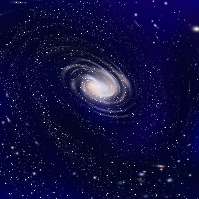 Vinylová Tapeta 広 が る 銀河 - Meziplanetární prostor