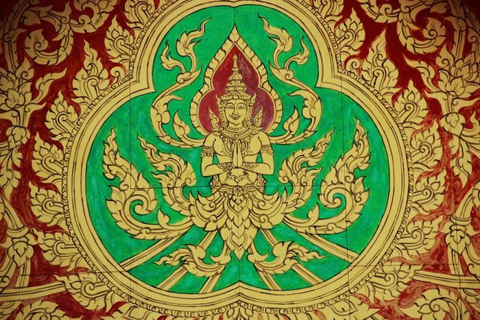Vinylová Tapeta Malby v chrámu zdi - Umění a tvorba