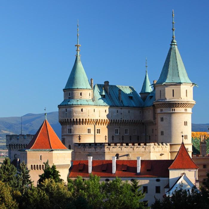 Vinyl-Fototapete Schloss Bojnice - Slowakei - Themen