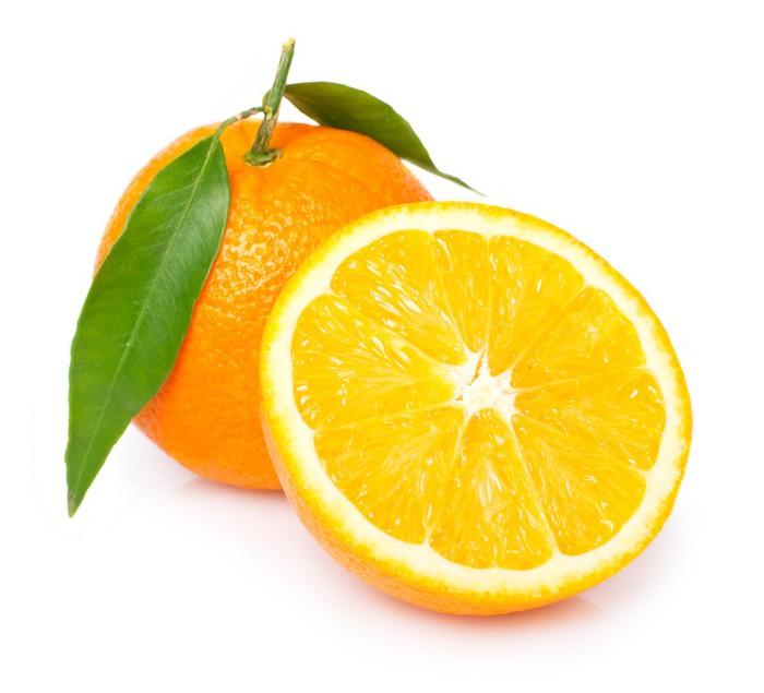 Vinylová Tapeta Čerstvý pomerančový - Ovoce