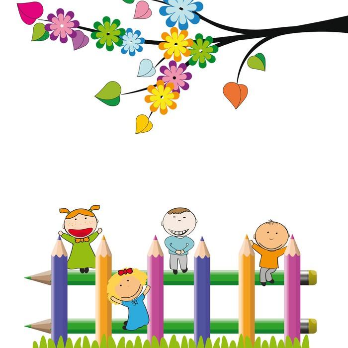 Carta da parati bambini felici pixers viviamo per il for Carta da parati bambini on line