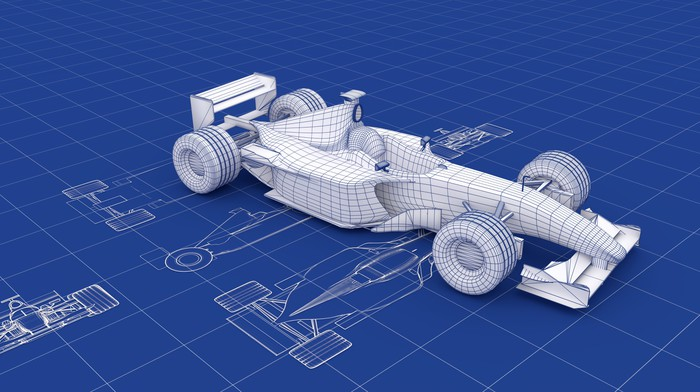 Formula one blueprint wall mural pixers we live to change formula one blueprint vinyl wall mural themes malvernweather Images
