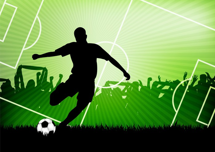soccer background Sticker • Pixers® • We live to change