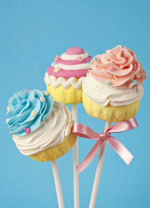 fototapete colorful cupcake pops pixers wir leben um. Black Bedroom Furniture Sets. Home Design Ideas