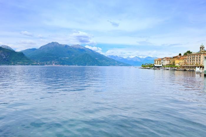 Vinylová Tapeta Město Bellagio, Como Lake District krajiny. Italy, Europe. - Evropa