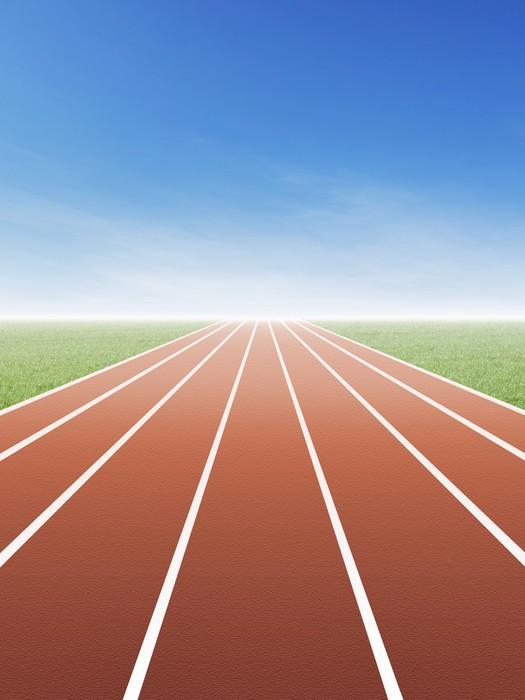 Vinylová Tapeta Running Track - Individuální sporty