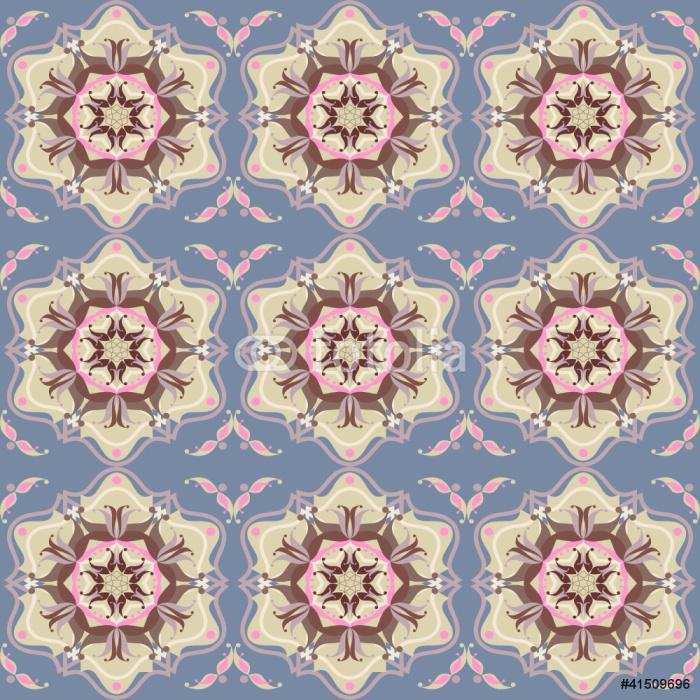 Vinylová Tapeta Ornamentální květinové orientální koberec konstrukce - Pozadí