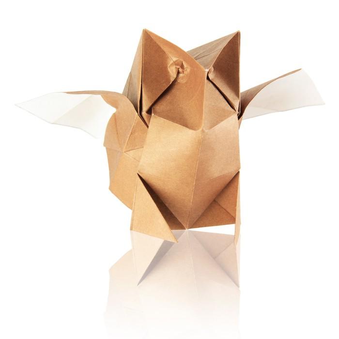 sticker origami hibou pixers nous vivons pour changer. Black Bedroom Furniture Sets. Home Design Ideas