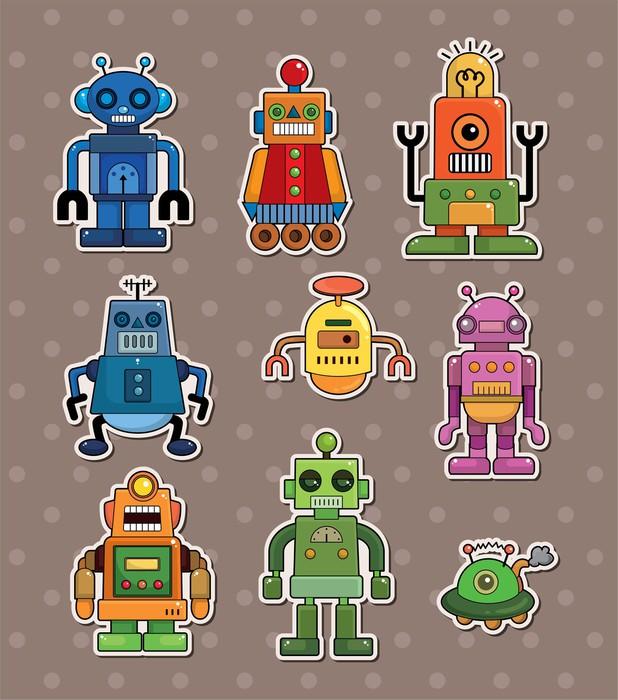 papier peint autocollants robots o pixersr nous vivons With affiche chambre bébé avec acheter fleurs de bach n 51