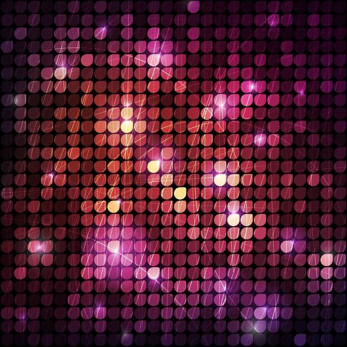 Vinylová Tapeta Shiny Mosaic - Jiné pocity