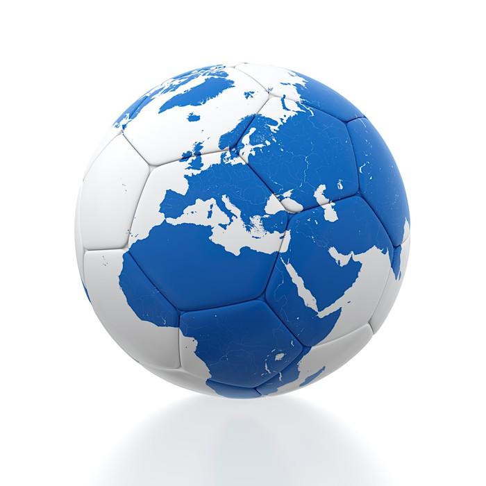 Soccer ball Vinyl Wallpaper - Sports Items