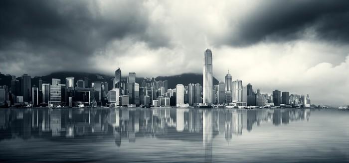 Vinylová Tapeta Hong Kong přístav - Asie