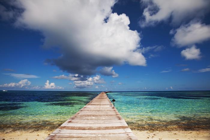 Vinylová Tapeta Maledivy - Prázdniny