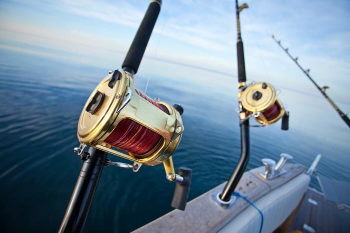 Vinylová Tapeta Big game fishing - Outdoorové sporty