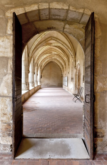 Cloister of the ancient church of brou bourg en bresse wall mural pixers we live to change - Home salon bourg en bresse ...