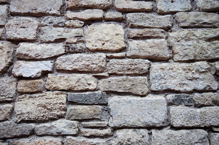 Vinylová Tapeta Starověké kamenné zdi - Struktury