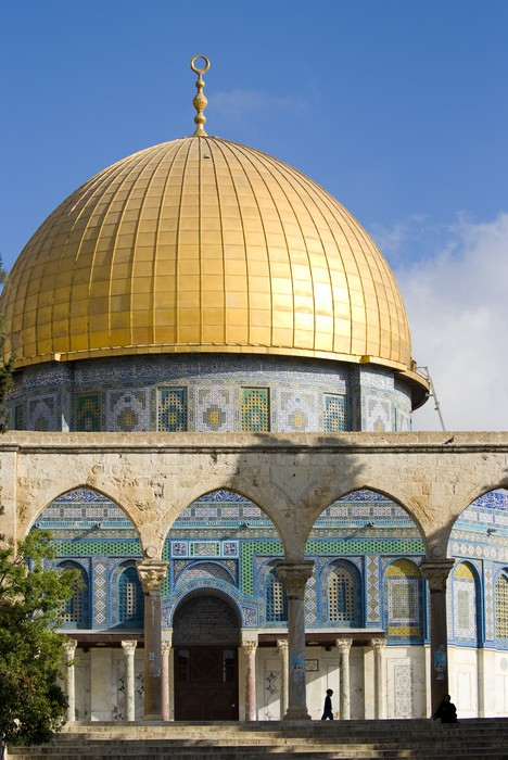 Vinylová Tapeta Al Aksa mešita zblízka, Jeruzalém - Střední Východ