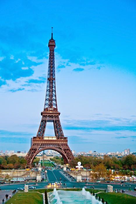 Vinylová Tapeta Paříž, Francie. Eiffelova věž - Situace v podnikání
