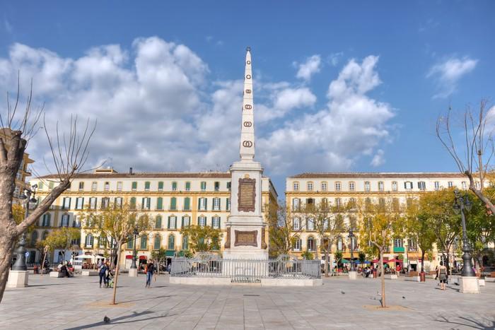 Vinylová Tapeta Plaza de la Merced, Malaga, Španělsko - Evropa