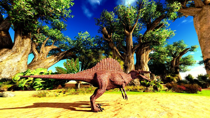 Vinylová Tapeta Spinosaurus - Témata