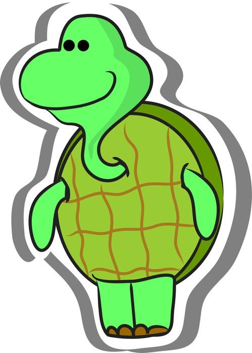Vinylová Tapeta Cartoon Turtle - Ostatní Ostatní